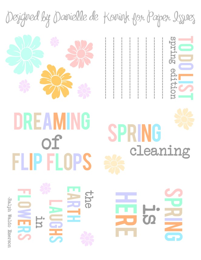 Printables April