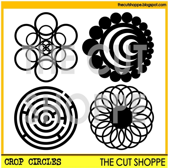 Crop circles watermark