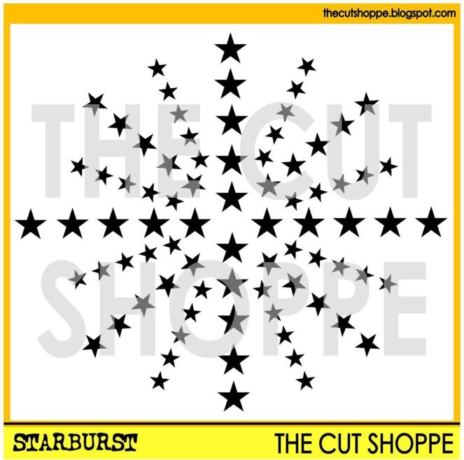 Starburst watermark