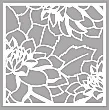 Altenew June 2017 Blog Hop - Stencil release. @Altenew #altenew #AltenewLayeredDahliaAB