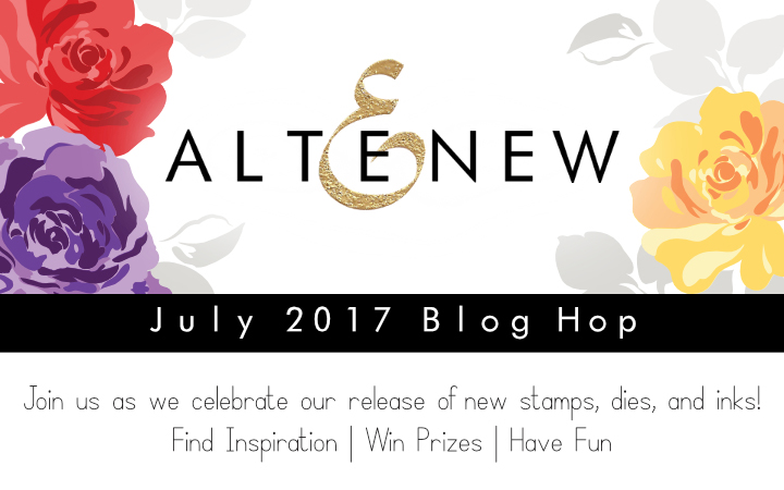 Hello Everyone And Welcome To The Altenew July 2017 Release Blog Hop And  Giveaway! Iu0027m Sure You Have Noticed By Now How Gorgeous The New Products  Are.