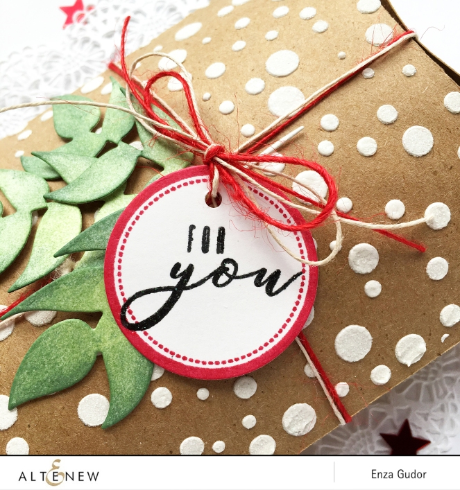 Altenew - Dot Labels - Gift - CloseUp