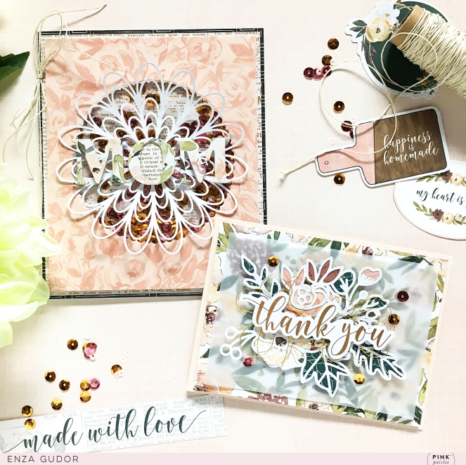 Mother's Day Cards by @enzamg for @pinkpaislee using #ppAuburnLane - #cardmaking #cards #mothersday