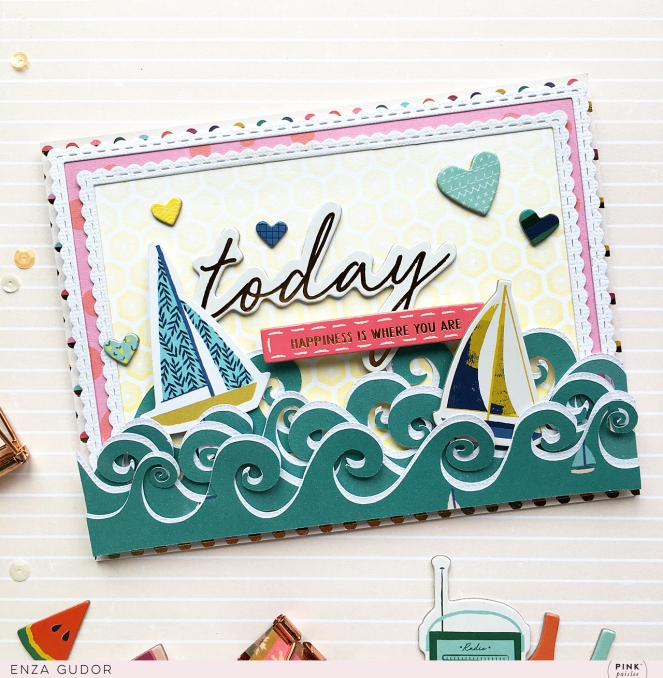 Summer cards by @enzamg for @pinkpaislee using #pppickmeup and #cutfiles by @paigetaylorevans @silhouetteinc. #cards #cardmaking