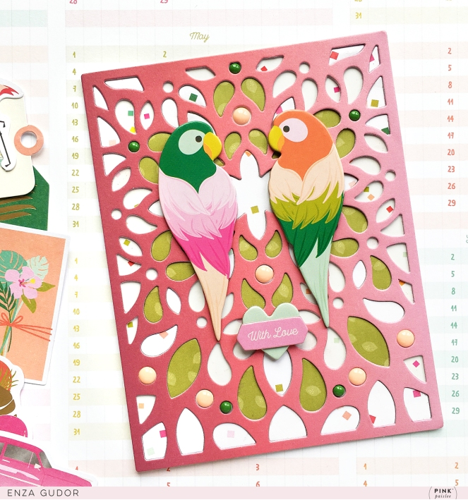 Intricate background cards by @enzamg for @pinkpaislee using the Confetti Wishes collection. #pinkpaislee #cards #cardmaking #handmadecards