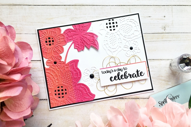 Everyday cards by @enzamg for @spellbinders using the Cut and Emboss Collection. #cards #cardmaking #spellbinders #cutandemboss
