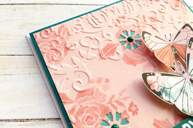 Everyday card by @enzamg for @spellbinders using Cut & Emboss Folders. #spellbinders #card #cardmaking #cutandemboss