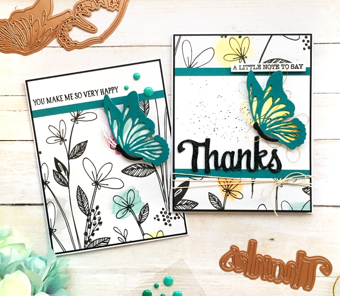 Cards by @enzamg for @spellbinders using the Indie Collection. #cardmaking #cards #diecutting #stamping