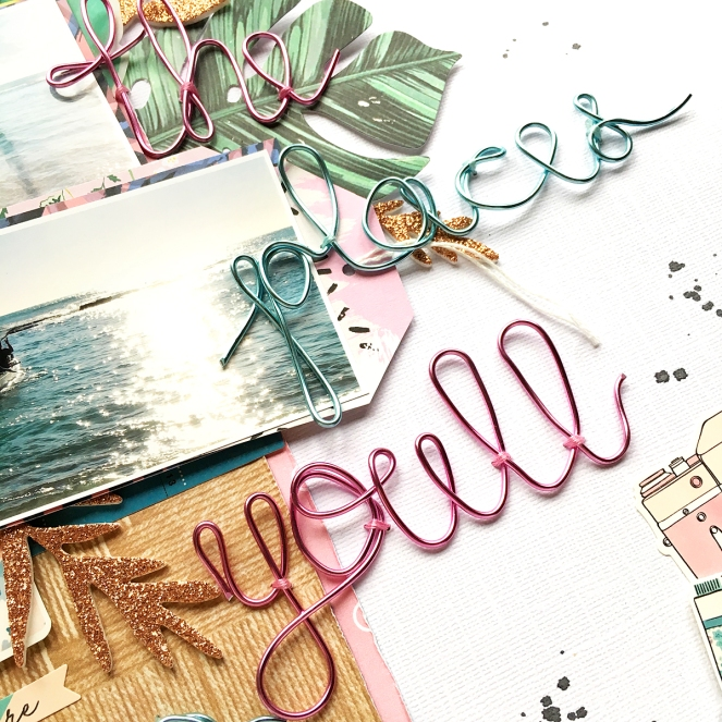 Travel Layout by @enzamg for @WeRMemoryKeepers using the #HappyJig and #TagPunchBoard. #scrapbooking #layout #travellayout #wermemorykeepers