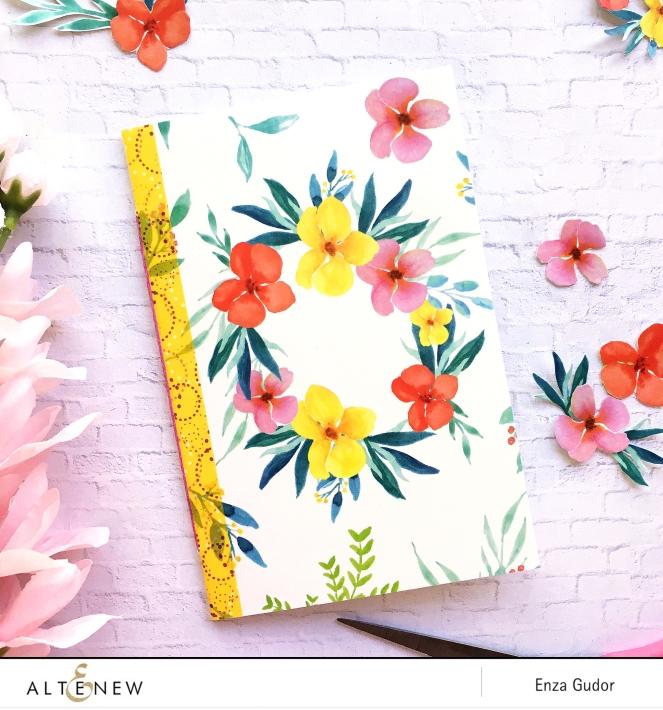 Mini notebooks with @Altenew Washi Tape by @enzamg. #washitape #handmadejournals #altenewwashitape