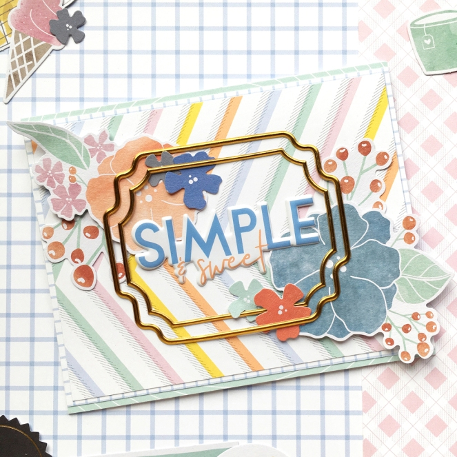 Simple & Sweet Guest Designer @enzamg for @pinkfreshstudio. #pinkfreshstudio #papercrafting #cardmaking #cards