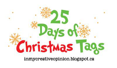 25 Days of Christmas Tags.