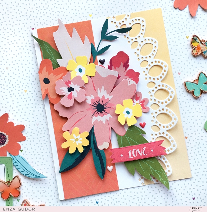 Floral cards by @enzamg for  @pinkpaislee using #ppwhimsical. #pinkpaislee #cards #cardmaking #ppwhimsical
