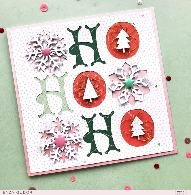 Whimsical Christmas Cards by @enzamg for @pinkpaislee using #ppwhimsical. #cards #cardmaking #pinkpaislee #christmas