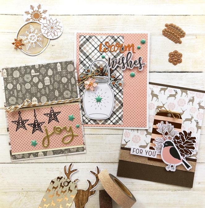 Spellbinders_WinterWishesDecember2018CardKit. @enzamg @spellbinders #cardmaking #cards #winter #winterwishes